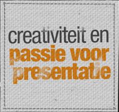 Creativiteit en passie voor presentatie.